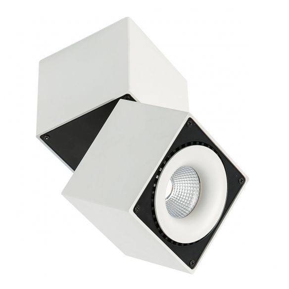 Sevilla Square Ceiling spot LED natynkowy SLC7562/28W WH+BL Italux